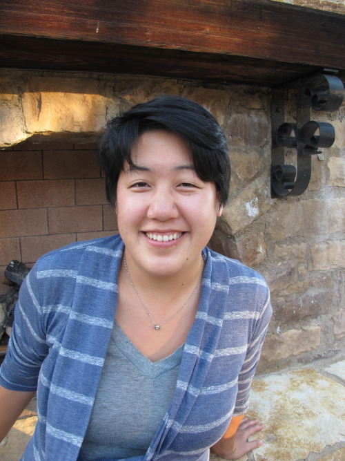 "Spoken word poet and the closing act for our July 5th show Audrey Kuo shares her ""Perspectives"" with us:  I'm tempted to just answer this question with ""I approach my art from my perspective."" For real, though, I think the creative process is intensely personal — or, at least, it should be. I've been putting together my first chapbook, sorting through poems I've written over the last four or so years. I've been surprised at how obvious it is which pieces don't belong; the pieces that lacked emotional truth stand out, and I'm comfortable letting them go.     I still consider myself very new to the stage, and I think there's so much power in being able to transform personal experience into a way of connecting with other people. I'm trying to be respectful of that process, and learning how to have confidence in my perspective, even as I'm still developing my voice.  As a more literal way of answering the question, I approach my art from a few intersecting perspectives: I identify as queer, female-identified, Taiwanese-American (but ethnically Chinese), and second generation. I also have a background in literature and social justice, and all of those pieces of my identity find their own way into my writing.   Come TOMORROW to see an amazing show! Audrey will also have a zine version of her upcoming chapbook available. Proceeds will go to our space — how cool is she?!"