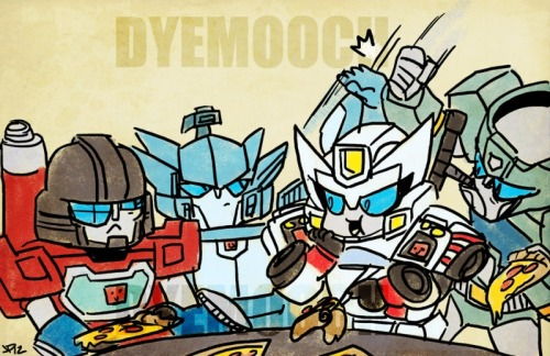 windwave:  Ajhsjshdsjhdhfdhfk…! We ordered Dyemooch's Pizza Party comission, awawwwwww! And he drew this three idiots and Kup! Awawwasshhsdhjdffgfgkfkgkfgkfjjfk… ^__________^