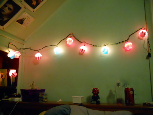 I have cupcake lights. Be jealous.
