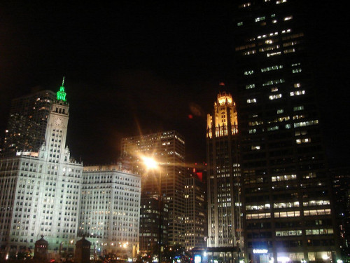Night Sky - Chicago by mavrd on Flickr.