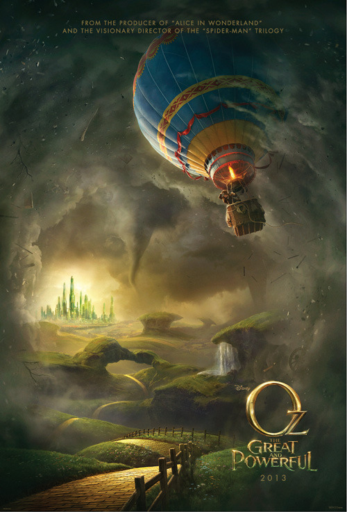 First poster for Oz The Great And Powerful Oz The Great And Powerful has released an official teaser poster online, giving us a first glimpse of Sam Raimi's return to the merry old land of Oz…