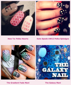 I (finally!) pulled all my nail art tutorials together in one place for easy reference. You can find them here: http://bit.ly/MX7eMQ