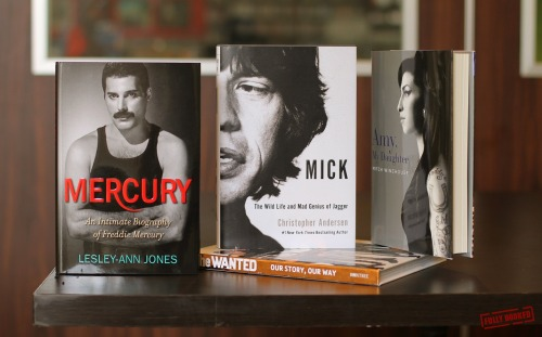 Mick, Freddie and Amy: there's a music biography for every kind of fan this week. See the icons through the eyes of their closest friends and family! The Wanted also make their debut in our shelves with an official compilation of their story (available at P899).MERCURY: An Intimate Biography of Freddie Mercury, available at P1040. http://bit.ly/No5pZVAMY, MY DAUGHTER, available at P1140. http://bit.ly/MZBg3YMICK: The Wild Life and Mad Genius of Jagger, available at P1099. http://bit.ly/MZBd8h