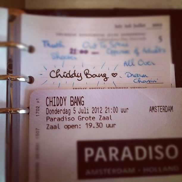 AAAHH tonight at #Paradiso #Amsterdam: #ChiddyBang 🙌 Thank you, Amsterdam Roots Fest 💙 Finally after three looong years 😱😭🙌💙✨ (Taken with Instagram)