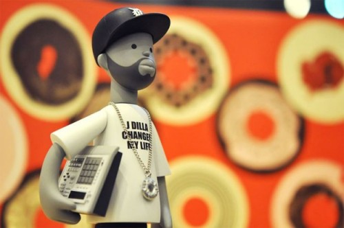 J Dilla Vinyl Toy 2012 Follow http://woodxlife.tumblr.com for more dope stuff