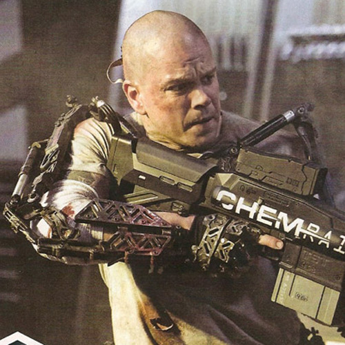 First look at Matt Damon in Elysium Elysium has released the first official still of star Matt Damon, who's sporting a new shaven-headed look for Neil Blomkamp's return to the world of science-fiction…