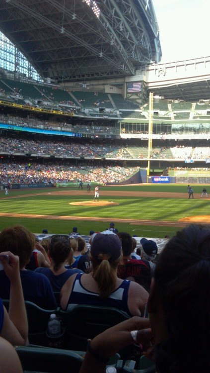 4th of July at Miller Park.