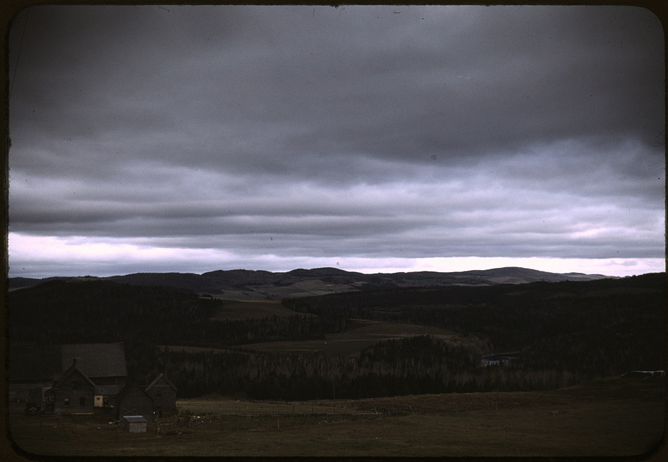 Wallagrasse, Aroostook Co., Maine, 1940