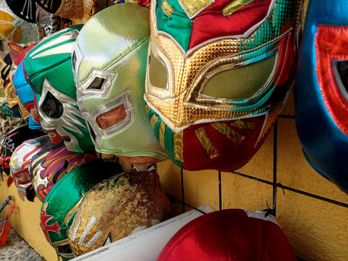 Lucha Libre on Flickr.One day I really want to design my own luchador mask.