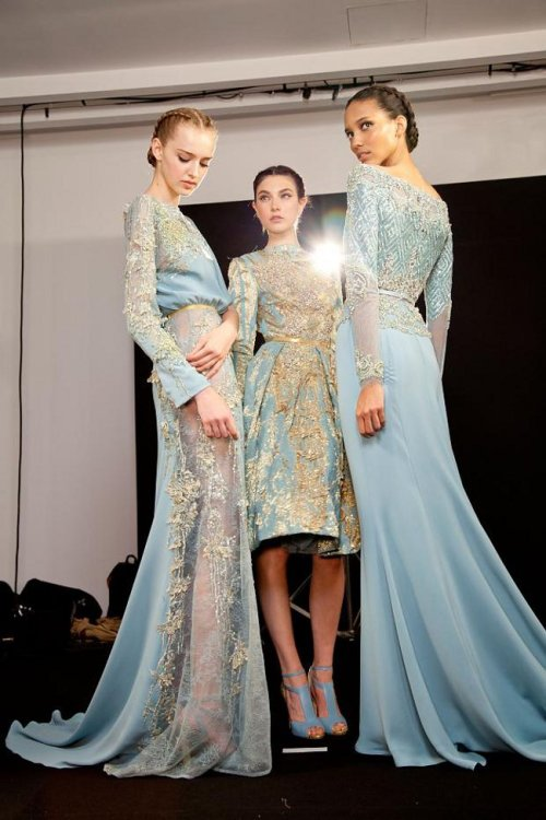 elie saab backstage fall12