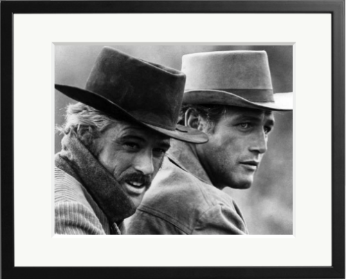 "Paul Newman and the Robert Redford in a scene from the movie ""Butch Cassidy And The Sundance Kid"" which was released on October 24, 1969."