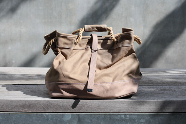 anchordivision:  WTAPS 2013 Spring/Summer Canvas Beach Bag | Anchor Division