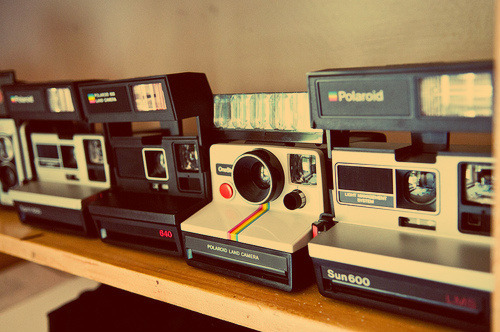 Instamatic cameras - coolio.