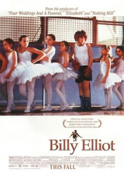 cartazes:  Billy Elliot (2000), by http://cinemavelho.com
