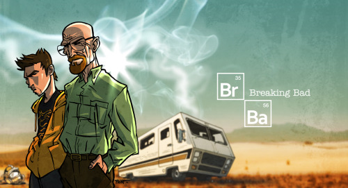 "breakingbadamc:  ""Breaking Bad"" by ADN (hi rez upon request)"