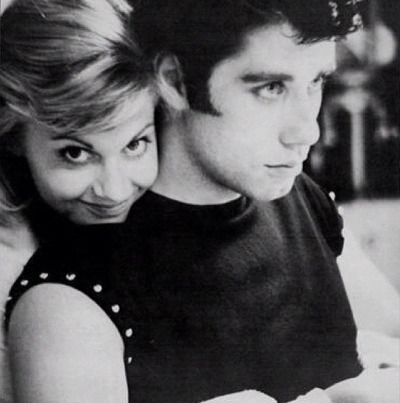 John Travolta and Olivia Newton John, Grease, 1978