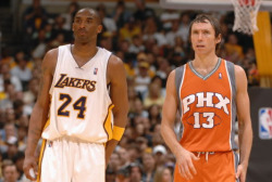 Steve Nash to the Los Angeles Lakers;   I pray D12 doesn't somehow end up in LA.