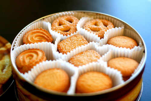 krysalides:  danish butter cookies (extra rich) by Simply Stardust on Flickr.  i freaking love these