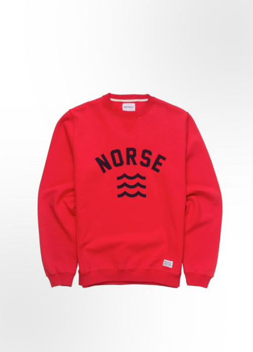 cuppasoup:  fadashh:  Norse Projects Visby Sweat in Red. Norse store:  need this