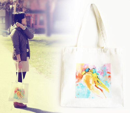 Kristy rocking our LOVERS Tote Bag! INVERTED COMMAS Connect with INVERTED COMMAS: FACEBOOK TWITTER ETSY FLICKR CHICTOPIA CHICISIMO PINTEREST
