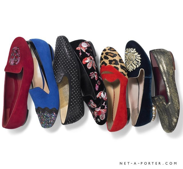 Slippers at net a porter!