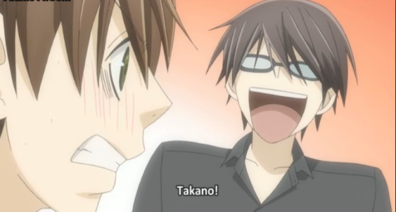 Takano's face made me lol xD