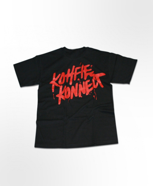 Noahs Ark - Kohfie Konnect T-shirt in Black.