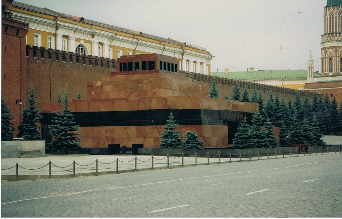 Lenin's Mausoleum. Photo credit: Neil Glick