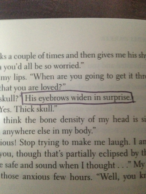 slowly-tongued-by-stephen-fry:  ohmycomelookatthis:  nowheregirlie:  lewarblers:  50 Shades Darker - Am the stupid one or..  ……..WAT  That's it. I give up. Her editor must have been Ms. Johnson's first grade class.  These pictures are just making me want to read the books more and more.