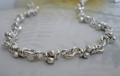 aroluna (via Ra Necklace Sterling Silver Link Heavy Chain Handmade by aroluna)