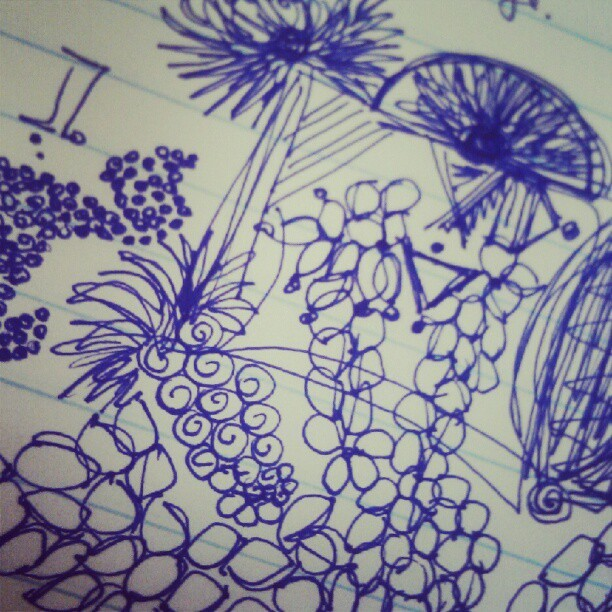 A new day equals new doodles :)  (Taken with Instagram)