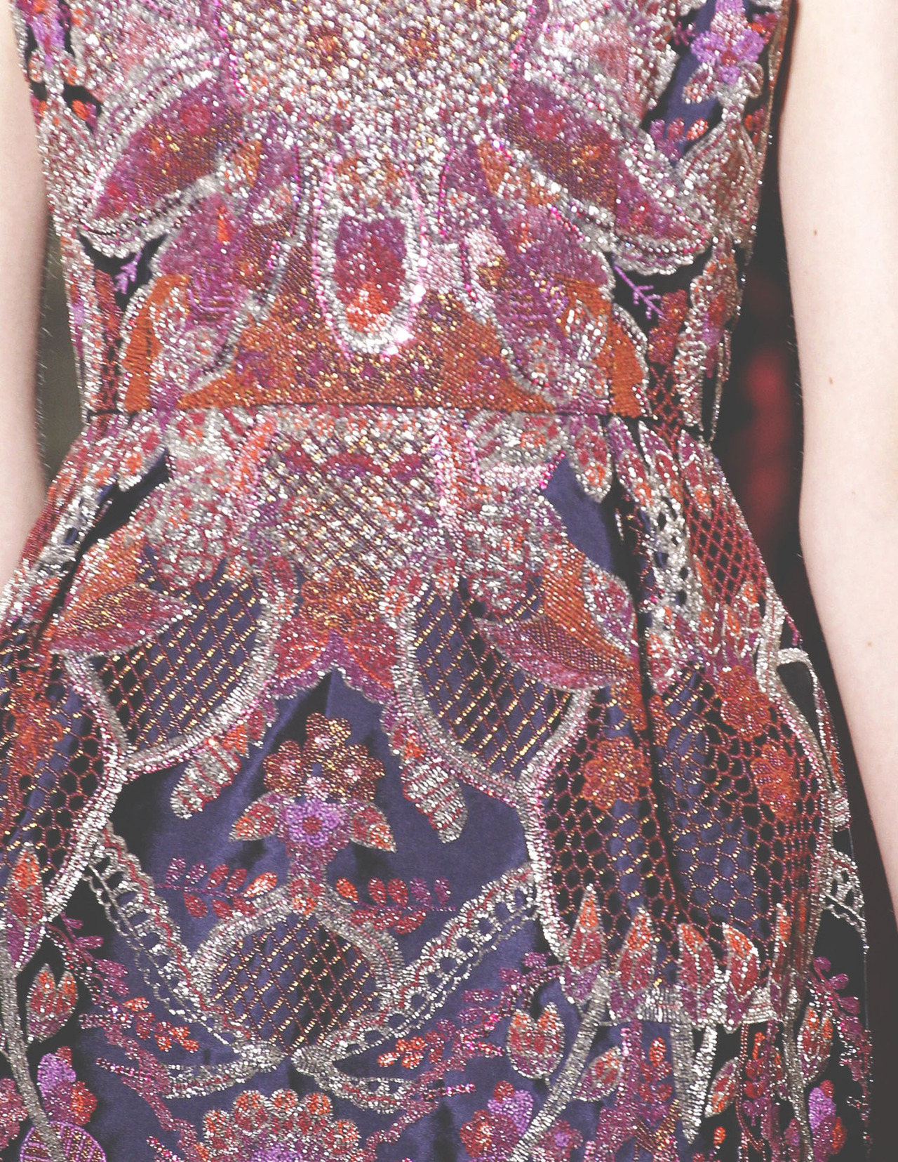 somethingvain:  valentino haute couture f/w 2012, details
