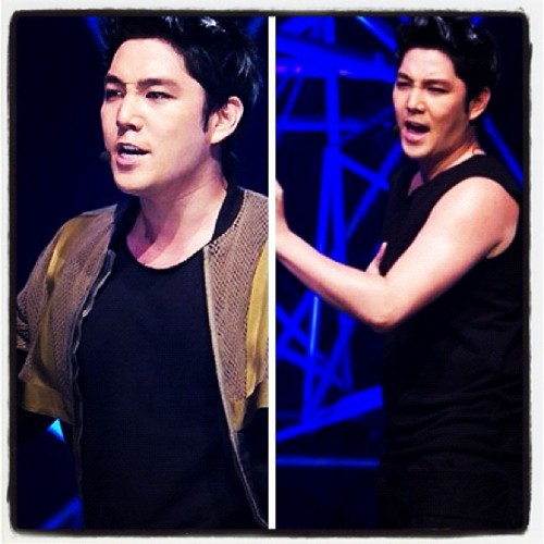 Handsome Kangin  (Taken with Instagram)