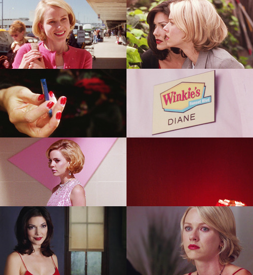 Mulholland Dr. & Red/Pink