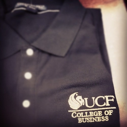 Oh yeah! #ucf #business #polo  (Taken with Instagram)