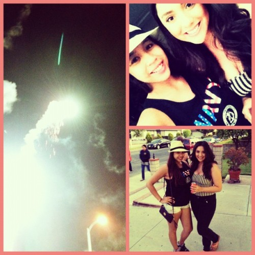 Fireworks with @dredaay  (Taken with Instagram)