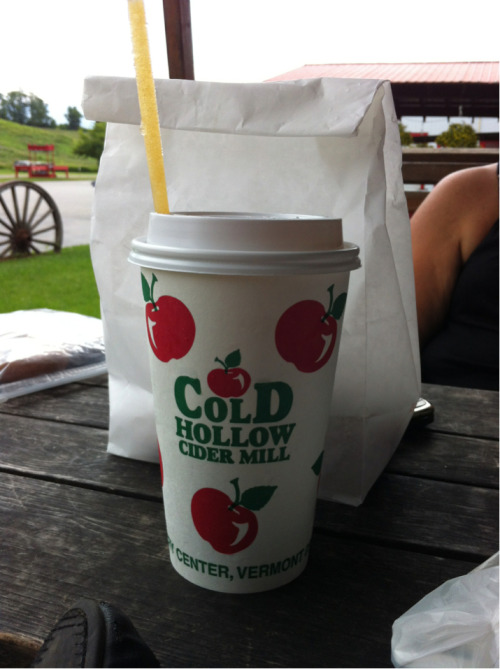Apple cider slush. Heavenly.
