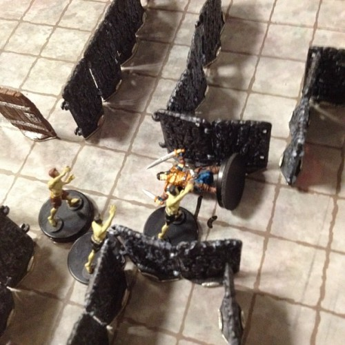 First death of the day… Rogue ripped asunder by zombies (Taken with Instagram at DEXCON 15)