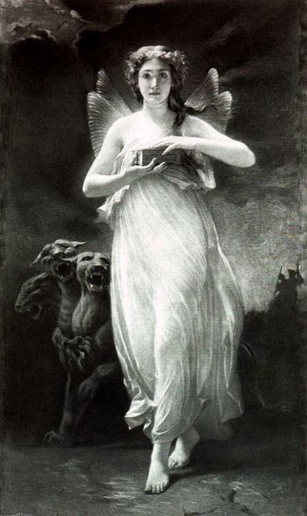 Psyche in the underworld, by Paul Alfred de Curzon