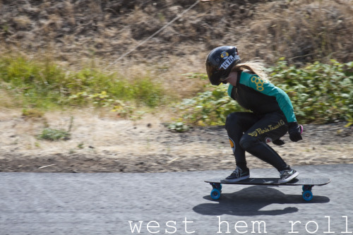 guidemedontsinkme:  Amanda Powell doin' work at Maryhill. West Hem Roll photo