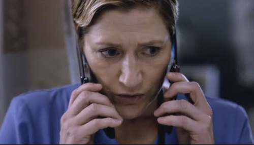 July 5, 1963:  Actress Edie Falco Born   Award-winning film, television and stage actress Edie Falco turns 49 today!  Her most prominent roles were on The Sopranos as Carmela Soprano and Nurse Jackie.  Her starring role as Nurse Jackie allowed her to participate in a conversation about the changing portrayals of women in primetime television in an episode of America in Primetime.  Also, watch Tavis Smiley's interview with Edie Falco about navigating the celebrity life.