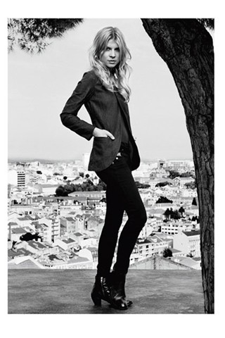 Clemence Poesy is the face of this season's G-Star Raw campaign