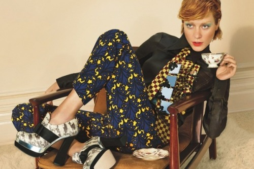 After 16 years, Chloe Sevigny returns as the face of Miu Miu.