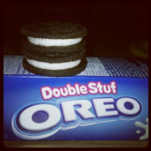 If #oreos are milk's favorite cookie, you can just call me milk. (Taken with Instagram)