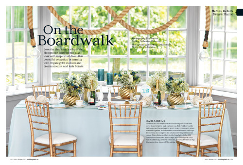 Atelier 688 manila rope lights in the current issue of Wedding Bells magazine www.weddingbells.ca www.Atelier688.com
