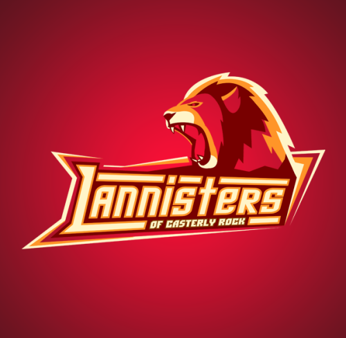 parislemon:  laughingsquid:  Game of Thrones Sports Logos by Vanadium  Perfect.