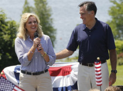 "Mitt Romney has declined to say much about his vice presidential search, but the Republican nominee's wife offered a new clue: he's considering a woman. ""We've been looking at that,"" Ann Romney told CBS News, when asked if her husband should pick a female as his No. 2. ""I'd love that option as well. So, you know, there's a lot of people that Mitt is considering right now."""