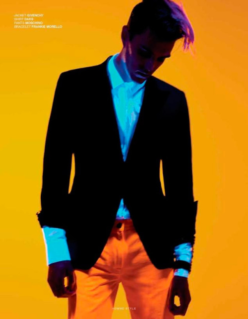 """Electric youth"" by Marco Falcetta for Homme Style."