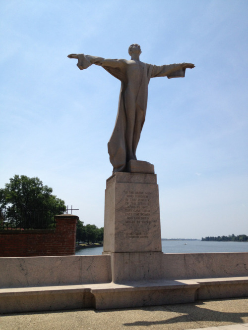 The Titanic memorial, Southwest Waterfront, DC