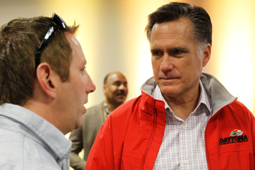 """If the Romney campaign's internal numbers are similar to the public polls, then their decision to invest more heavily in Florida is unsurprising. After a wave of favorable polls following Romney's triumph in the GOP primary, Obama appears to hold a modest lead in most surveys over the last 45 days. Representatively, two Quinnipiac polls conducted in June show Obama leading by 4 percentage points after the same firm showed Romney leading by an average of 3 or 4 percentage points in May. Much of the change appears to be driven by a collapse in Romney's favorability ratings among white working class voters—precisely the effect predicted by advocates of attacks on Romney's time at Bain Capital. Romney's favorability rating among white voters without a college degree dropped by a net-15 points between the May and June Quinnipiac polls and Romney's standing in the horse race declined by a net-10 points."" —Nate Cohn, ""Does Romney Have a Florida Problem?"""